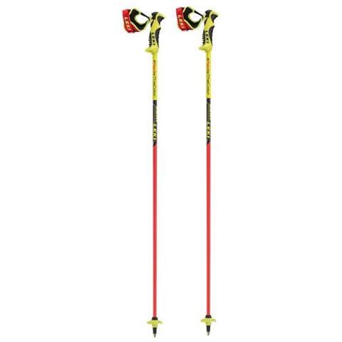 6436520 bastone da sci 11 cm Nero, Rosso, Giallo Alluminio