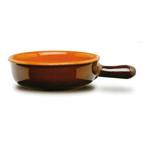 Tegame 1 Manico in Terracotta Diametro 30 cm
