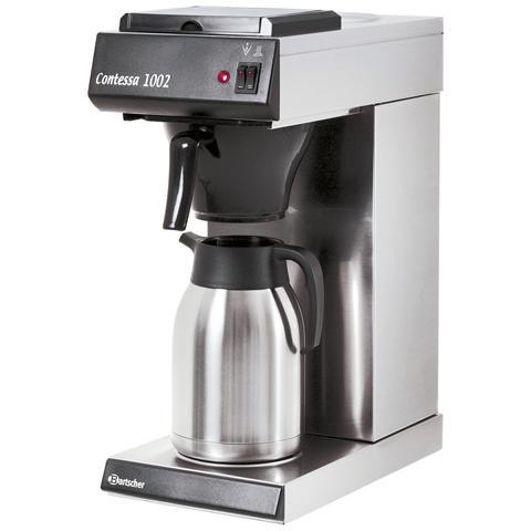 A190043 Macchina per caffè a filtro all'americana Contessa 1002 2 kW