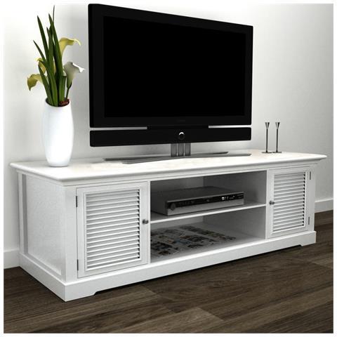 Mobile Tv In Legno Bianco