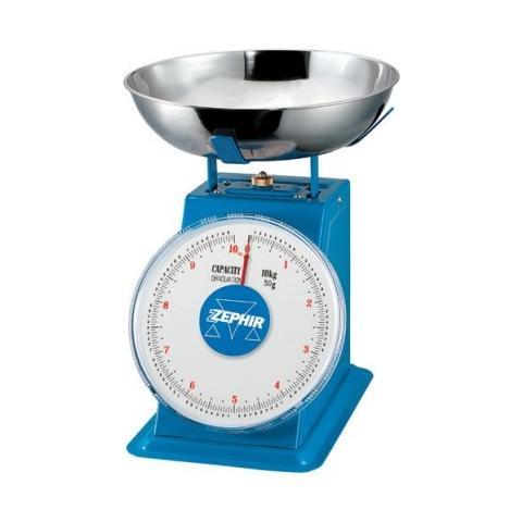 Bilancia da Cucina 10 kg Colore Blu / Acciaio Inox