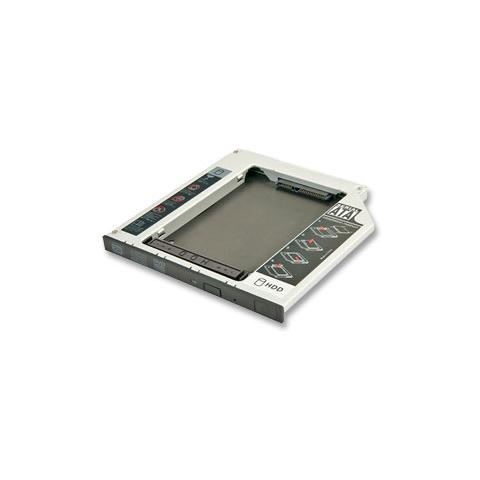 LINDY Adattatore per Hard Disk SATA in slot slim per CD / DVD / BD (alti fino a 9,5mm)