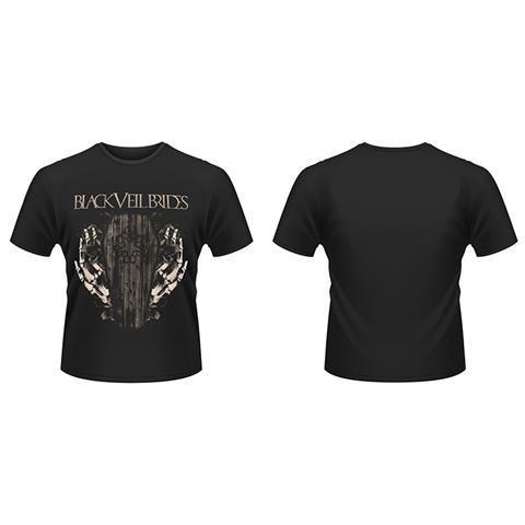 PLASTIC HEAD Black Veil Brides - Deaths Grip (T-Shirt Unisex Tg. S)