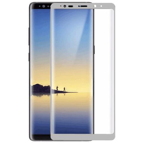FONEX SCREEN GLASS 3D CURVO 0,2 MM. PER S SGH GALAXY NOTE 8 SILVER (1PZ)
