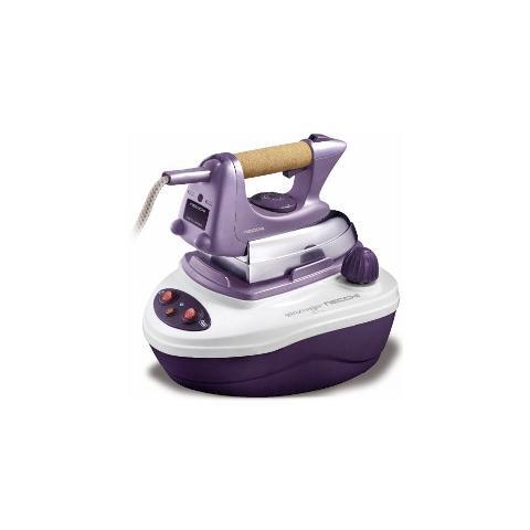 NECCHI NSCLUB300 Ferro da Stiro con Caldaia Potenza 2000 Watt Colore Bianco / Viola