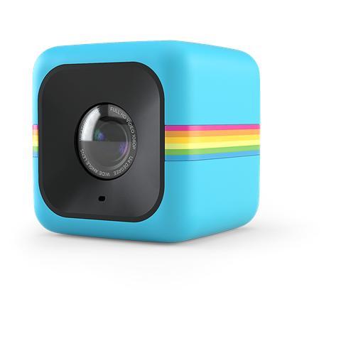 POLAROID Cube+ Blu Action Cam Sensore CMOS 8Mpx Filmati Full HD Wi-Fi Antiurto e Splash Proof