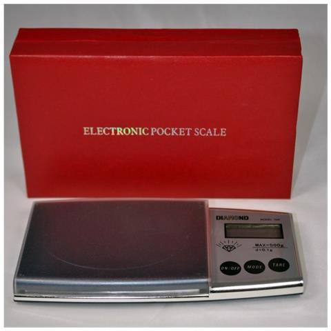 Bilancia Digitale Di Precisione Display Lcd Da 0,1g A 500g Bilancino Pesa Oro