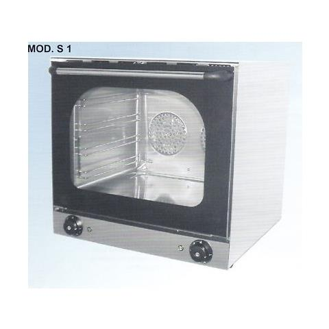 Forno Convezione Professionale Elettrico 4 Teglie Cm 31x44 Rs0903