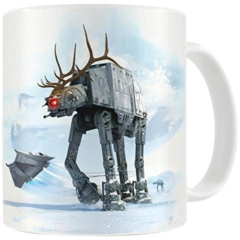Tazza Star Wars Mug At At Reindeer Christmas Ver.