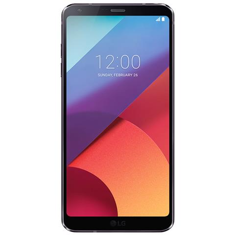 """LG G6 Nero 32 GB 4G / LTE Impermeabile Display 5.7"""" Quad HD Slot Micro SD Fotocamera 13 Mpx Android Italia"""