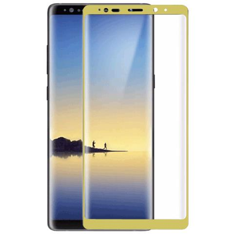 FONEX SCREEN GLASS 3D CURVO 0,2 MM. PER S SGH GALAXY NOTE 8 GOLD (1PZ)