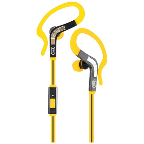 TREVI Auricolari Sport JS 659 M + Microfono colore Giallo