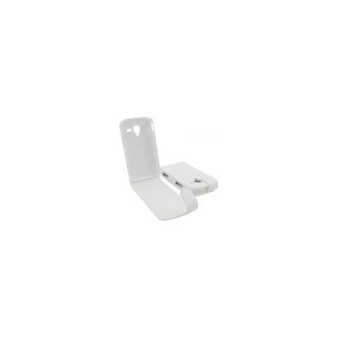 Samsung Custodia Samsung I8160 Galaxy Ace 2 Top Open Pelle White