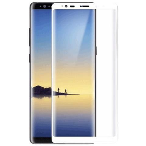 FONEX SCREEN GLASS 3D CURVO 0,2 MM. PER S SGH GALAXY NOTE 8 WHITE (1PZ)