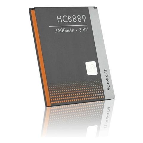 FONEX Batteria Li-Ion High Capacity 2600 mAh per Samsung i9505 Galaxy S4