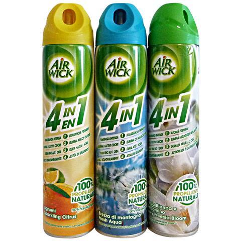 Air Wick Spray Misto 240 Ml. Deodorante Candele E Profumatori