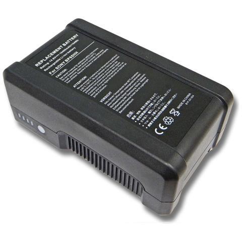 Li-ioni Batteria 10400mah (14.4v) Per Fotocamera Camcorder Video Hitachi Z-1, Zv-1a