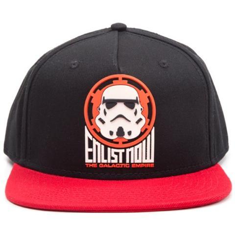 BIOWORLD Star Wars - Galactic Empire Stormtrooper Snapback (Cappellino)
