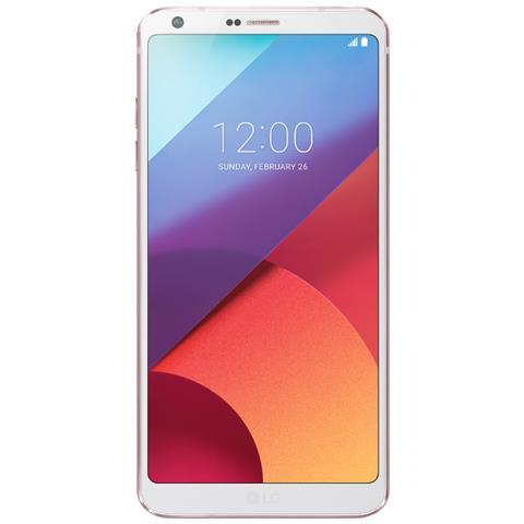 "LG G6 Bianco 32 GB 4G / LTE Impermeabile Display 5.7"" Quad HD Slot Micro SD Fotocamera 13 Mpx Android Italia"