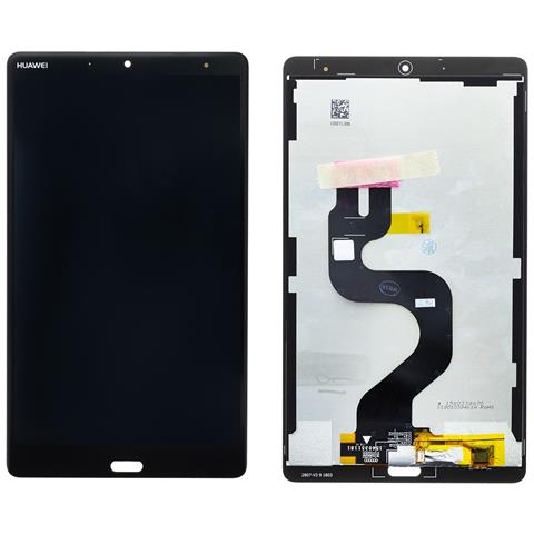 Image of Ricambio Lcd Display Schermo Screen Touch Originale Huawei Mediapad M5 8.4 Nero