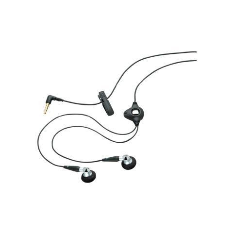 BLACKBERRY Auricolari Stereo a filo con microfono e 3.5mm - Nero