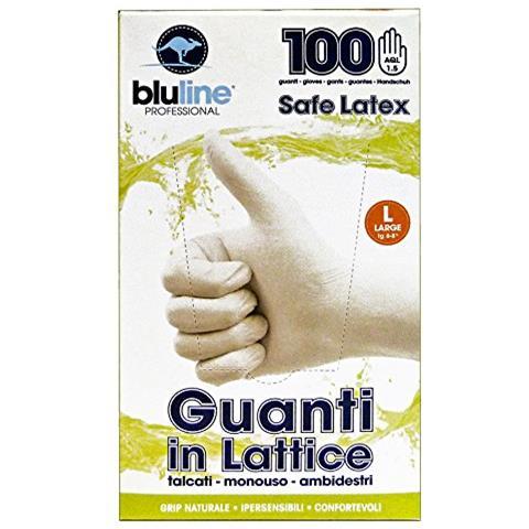 Bluline Guanti X 100 Lattice Bluline L Giardinaggio
