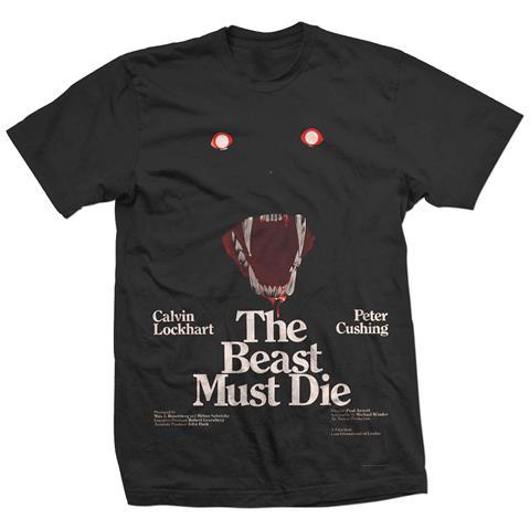 ROCK OFF Studiocanal - The Beast Must Die (T-Shirt Unisex Tg. L)