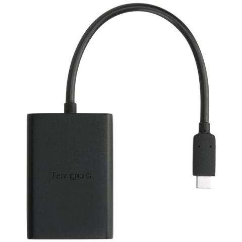 TARGUS ACA41EUZ USB-C USB A / DC Nero cavo di interfaccia e adattatore