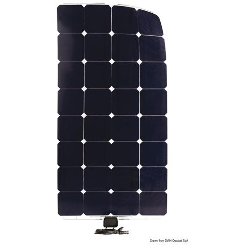 Pannello Solare Enecom SunPower 120 Wp 1230x546 mm