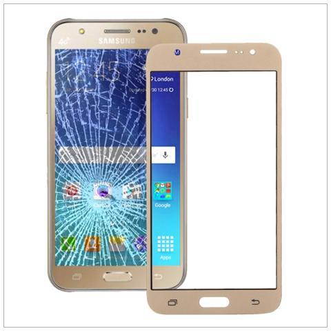 BOMA Schermo Touch Vetro Frontale Ricambio Samsung Galaxy J7 J700 Oro