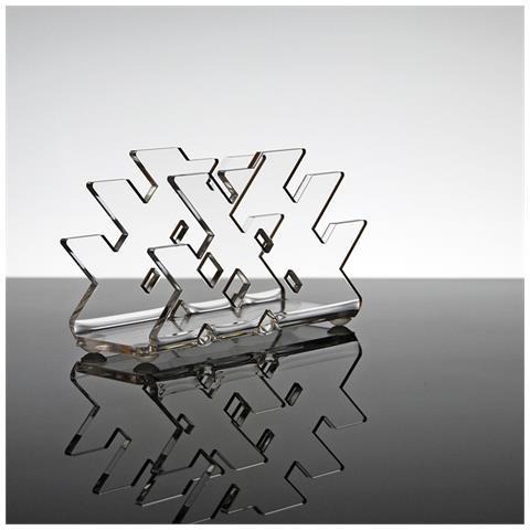 Portatovaglioli Porta Tovaglioli Da Tavolo Design Moderno In Plexiglass Trasparente Flox