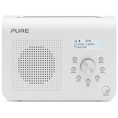 Pure Radio One Classic Serie 2 DAB / DAB+ / DMB / FM Jack 3.5mm colore Bianco
