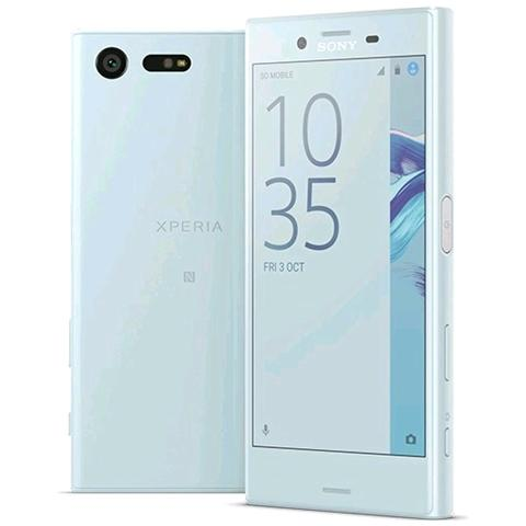 """SONY Xperia X Compact Blu 32 GB 4G/LTE Display 4.6"""" HD Slot Micro SD Fotocamera 23 Mpx Android Europa"""