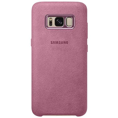 SAMSUNG Cover Alcantara per Galaxy S8 Colore Rosa