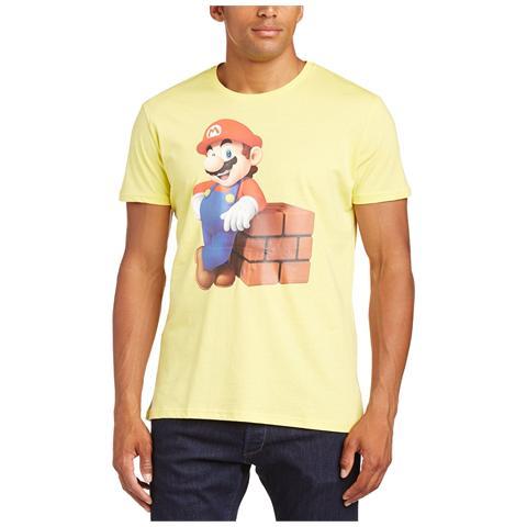 BIOWORLD Nintendo - Mario Block Yellow (T-Shirt Unisex Tg. XS)