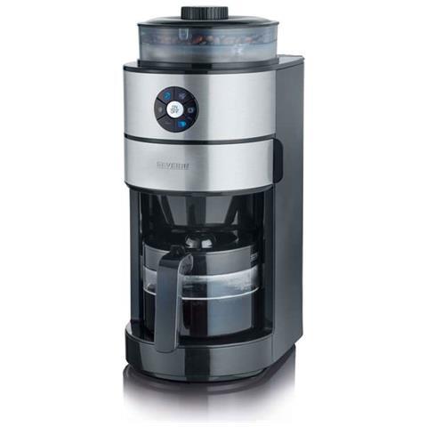 Coffee Filter Boyeur acciaio inossidabile spazzolato nero 820w 6 Coppe Ka4811
