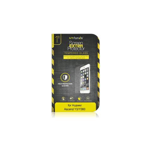 FONEX Protezione Schermo in Vetro Temperato per Huawei Ascend Y3 / Y360 (1Pz)