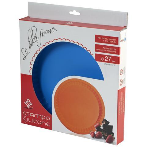 HOME Stampo Crostata Silicone Colori Assortiti 27 Pasticceria