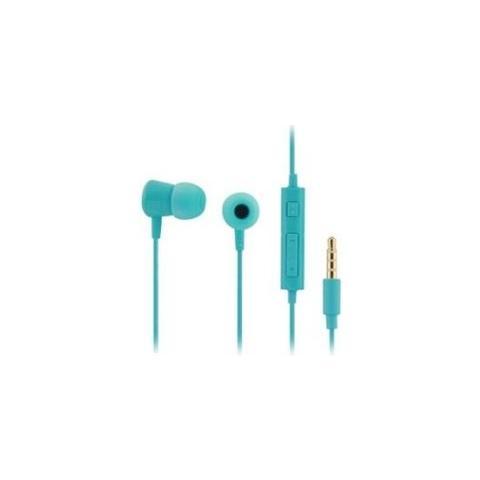 SAMSUNG Auricolare Stereo con Microfono + Tasto volume - Azzurro