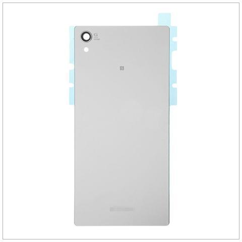 BOMA Retro Cover Scocca Ricambio Sony Xperia Z5 Premium E6853 Copri Batteria Argento