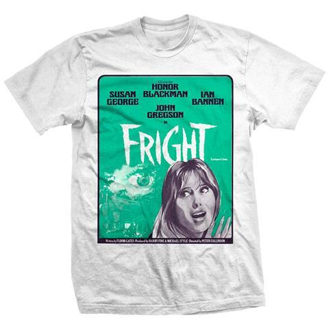 ROCK OFF Studiocanal - Fright Poster (T-Shirt Unisex Tg. L)