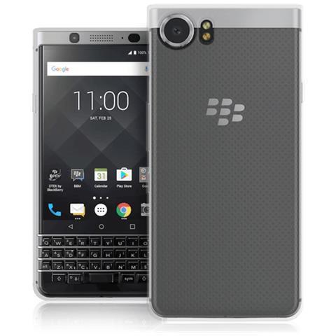 FONEX Cover in TPU Pixel per Blackberry Keyone colore Trasparente