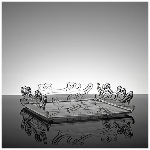 Portatovaglioli Porta Tovaglioli Da Tavolo Di Design In Plexiglass Trasparente Mirto