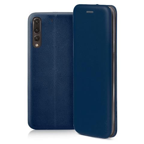 FONEX Profile Book Custodia a Libro per Huawei P20 Pro Colore Blu