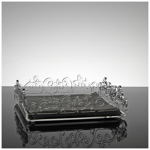 Portatovaglioli Porta Tovaglioli Da Tavolo Di Design In Plexiglass Trasparente Primula