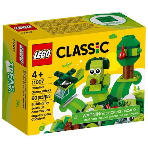 LEGO Classic - Mattoncini Verdi Creativi