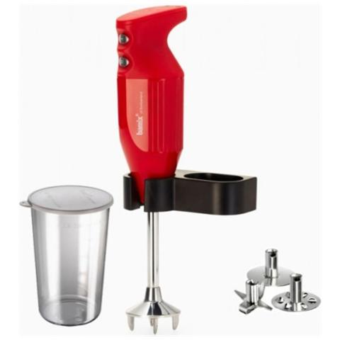 Frullatore ad Immersione Mono BX MONO RD Potenza 180 Watt Colore Rosso