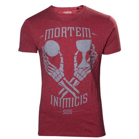 BIOWORLD Uncharted 4 - Mortem Inimicis Suis (T-Shirt Unisex Tg. S)