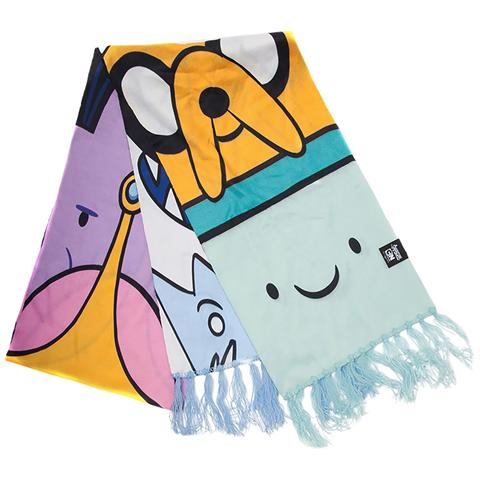 BIOWORLD Adventure Time - All Characters Knitted Scarf Multicolor (Sciarpa)