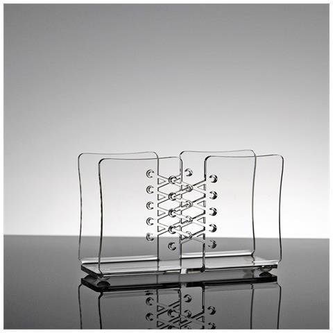 Portatovaglioli Porta Tovaglioli Da Tavolo Design Moderno In Plexiglass Trasparente Briar